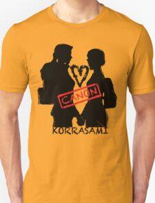 Official Korrasami CANON stamp Unisex T-Shirt
