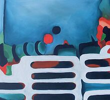 Abstract landscape by jaycee