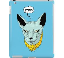 Lying Cat - Saga iPad Case/Skin