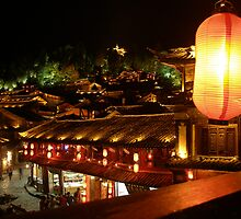 night scenery in Lijiang Old City by itourbeijing