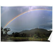 Mount Dandenong, Melbourne, Victoria. Poster