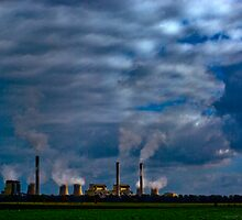 Loy Yang Power Station I by FuriousEnnui