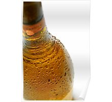 Wine bottle droplets #1 Poster