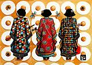 Tang Court Trio Musicians by © Karin Taylor