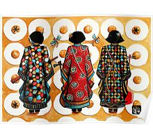 Tang Court Trio Musicians Poster