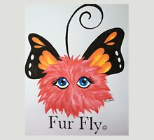 Red Fur Fly© with butterfly wings  Unisex T-Shirt