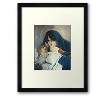 Mother and Son Framed Print