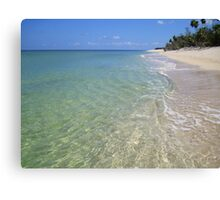 Remote Paradise Canvas Print
