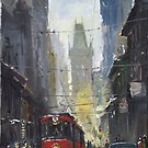 Prague Old Tram 05 by Yuriy Shevchuk
