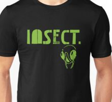 Insects Surfing Club t-shirt - Design 2 (radiation green) Unisex T-Shirt
