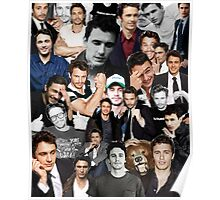 James Franco Collage Poster