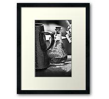 Ren Bottle #1 Framed Print