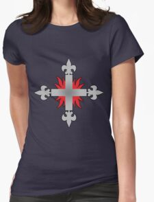 Musketeers Logo Womens Fitted T-Shirt