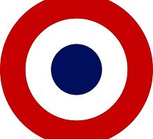 Roundel of the French Air Force by abbeyz71
