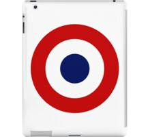 Roundel of the French Air Force iPad Case/Skin
