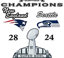 Super Bowl XLIX Champions by phillyyy