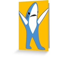 Katy Perry Half Time Performance Dancing Tsundere the Shark Greeting Card