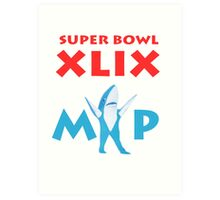 Super Bowl MVP Art Print