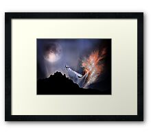 Escaping A Black Hole Framed Print