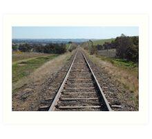 rail line Art Print