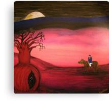 Ned Kelly   (Neds Moonlight Encounter)  Original Sold  Canvas Print