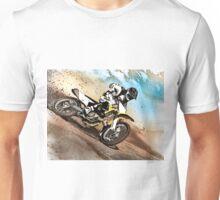 Graphically altered dirt biker  Unisex T-Shirt