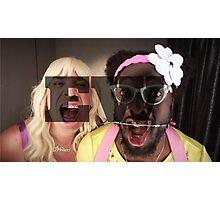 Jimmy Fallon/Will.i.am EW Photographic Print