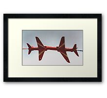 The Red Arrows - Close Pass Framed Print