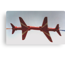 The Red Arrows - Close Pass Canvas Print