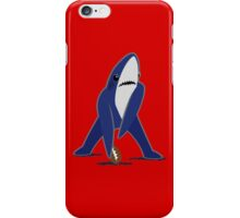 Katy Perry Dancing Tsundere the Shark - Patriots Logo Style iPhone Case/Skin