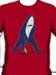 Katy Perry Dancing Tsundere the Shark - Patriots Logo Style T-Shirt