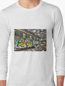 Locomotive Art Long Sleeve T-Shirt