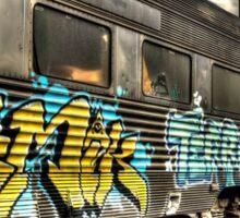 Locomotive Art Sticker