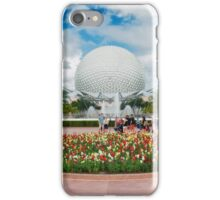 Epcot in Spring iPhone Case/Skin