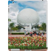 Epcot in Spring iPad Case/Skin