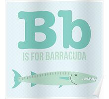 B is for Barracuda Poster