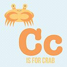 C is for Crab by Amy Huxtable