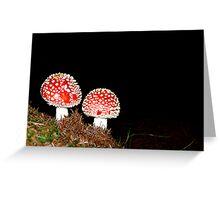 Fungi Greeting Card