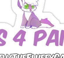 Pics 4 Pants 1st Week (Logo Shirt)  Sticker