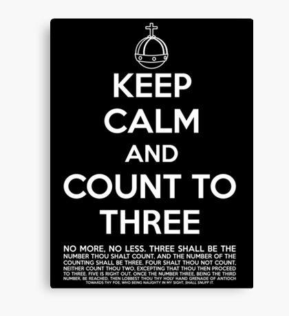 Keep calm and kill the bunny. Canvas Print