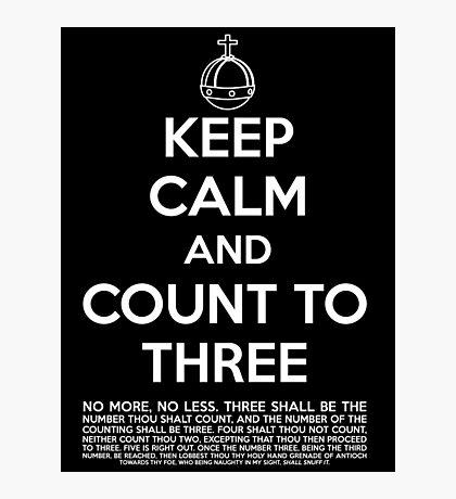 Keep calm and kill the bunny. Photographic Print