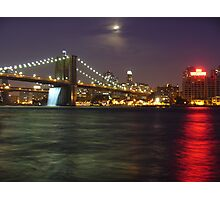 Colors At Night Photographic Print