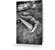 Going nowhere... Greeting Card
