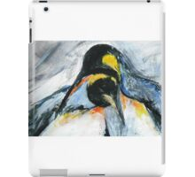 Penguins acrylics on paper  iPad Case/Skin