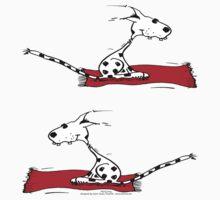 flying dog by Zebrafisch