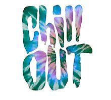 Tie Dye Chill Out Photographic Print