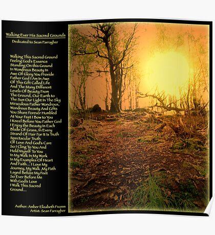 Walking Sacred Ground  Poster