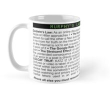 Murphy's Laws of the Internet Mug