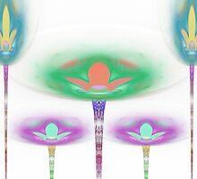 Tut67#3:  Star Flowers  (G1454) by barrowda
