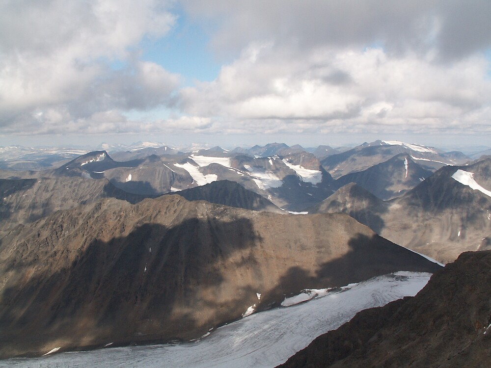 Solved  - shot from Kebnekaise the highest mountain in Sweden by MichaelBr